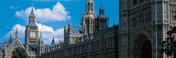 Victoria Tower Wall Art - Photograph - Victoria Tower & Big Ben London England by Panoramic Images