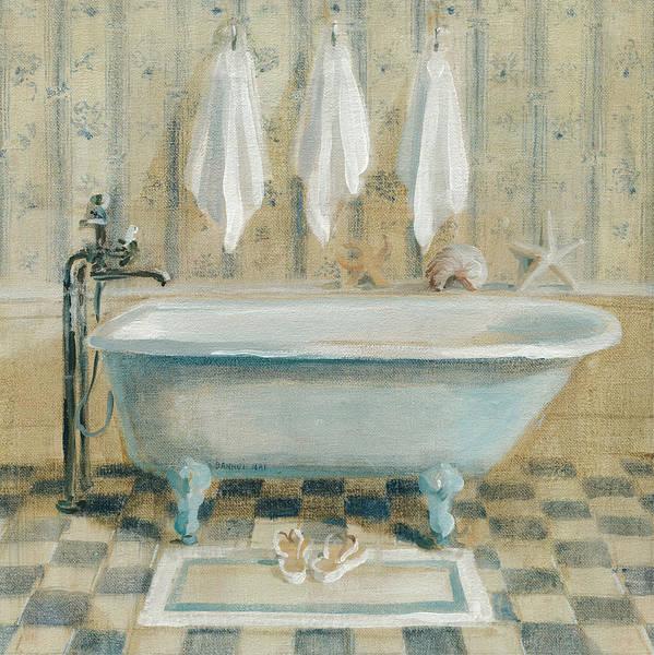 Wall Art - Painting - Victorian Bath Iv by Danhui Nai