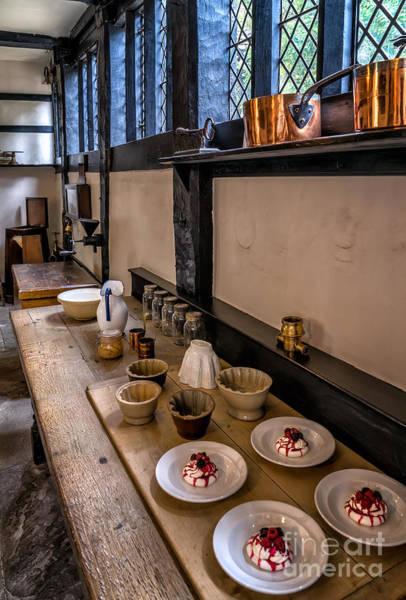 British Food Photograph - Victorian Desserts by Adrian Evans