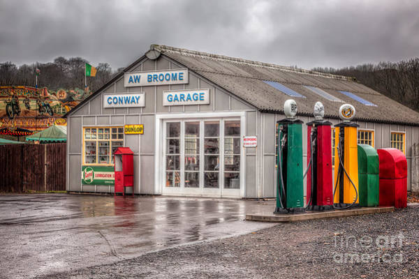 Fairground Photograph - Victorian Garage by Adrian Evans