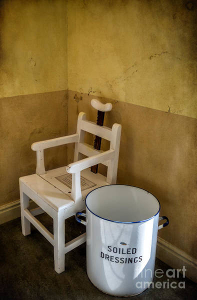 Museum Digital Art - Victorian Hospital Chair by Adrian Evans