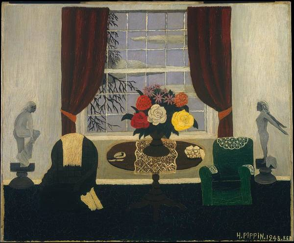 Central America Painting - Victorian Interior by Horace Pippin