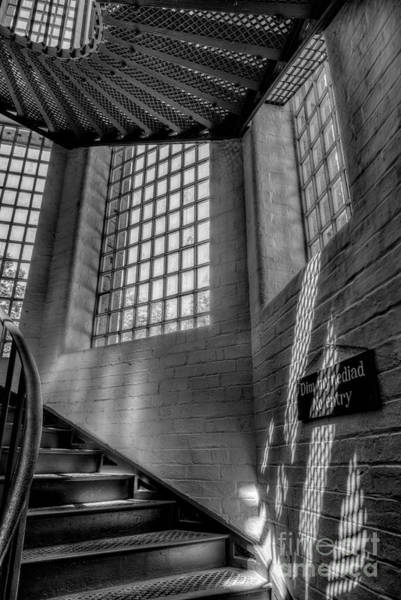 Banister Wall Art - Photograph - Victorian Jail Staircase V2 by Adrian Evans