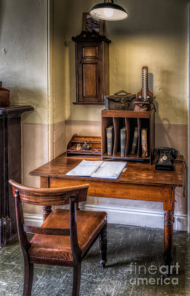 Doctor Office Photograph - Victorian Medical Office by Adrian Evans
