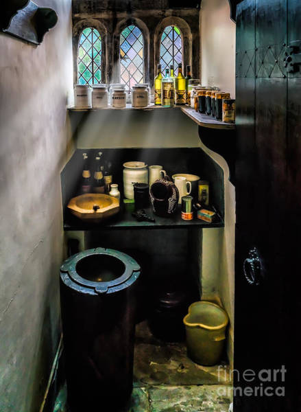 British Food Photograph - Victorian Pantry by Adrian Evans