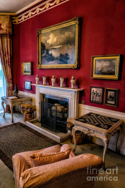 Fire Place Photograph - Victorian Style by Adrian Evans