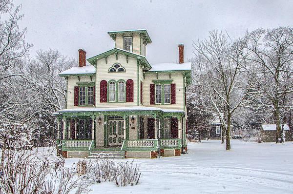 Victorian Winter Art Print