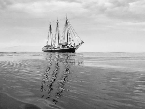 Stonington Photograph - Victory Chimes At Anchor by Don Seymour
