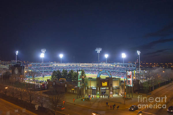 Photograph - Victory Field 3 by David Haskett II