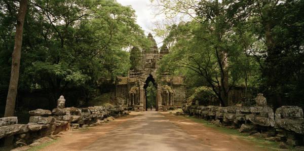 Photograph - Victory Gate Angkor by Shaun Higson