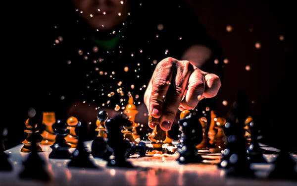 Chess King Photograph - Victory by Ivan Vukelic