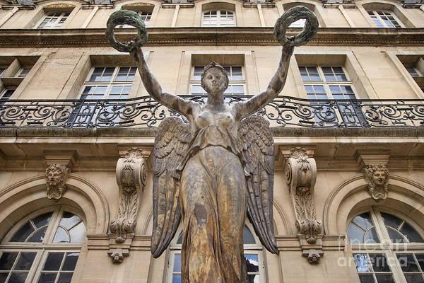 Cours Photograph - Victory Statue - Paris by Brian Jannsen