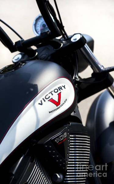 Victory Motorcycle Photograph - Victory  by Tim Gainey