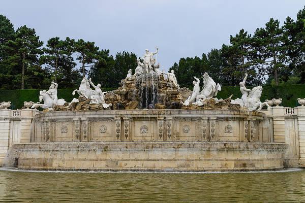 Photograph - Vienna Fountain by John Johnson