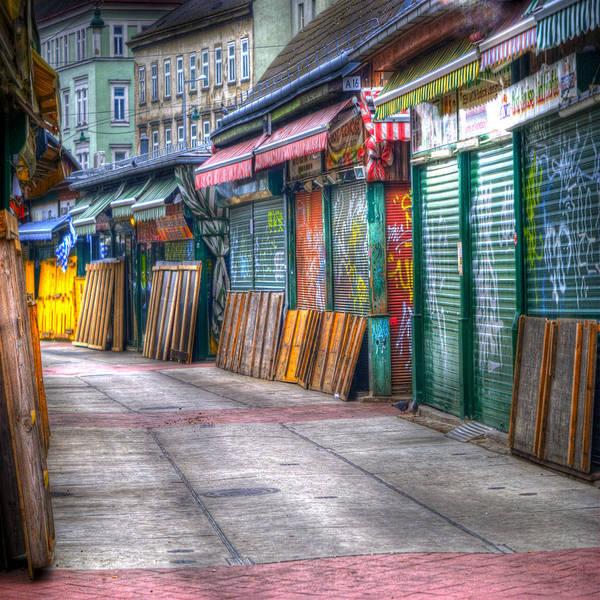 Vienna Photograph - Vienna Naschmarkt by Juli Scalzi