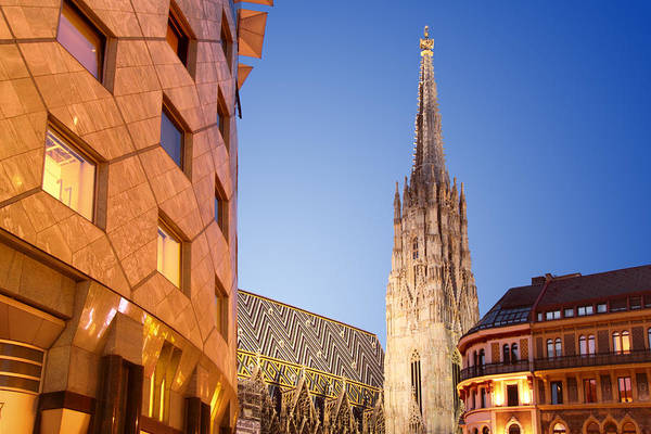 Photograph - Vienna - St. Stephen's Cathedral by Marc Huebner
