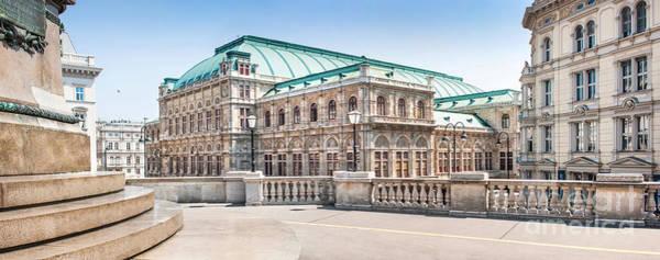 Wall Art - Photograph - Vienna State Opera by JR Photography