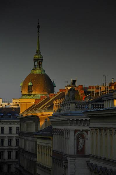 Vienna Photograph - Vienna Sunrise by Aaron Bedell