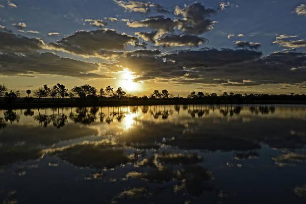 Blye Photograph - Viera Sunrise V by Kenneth Blye