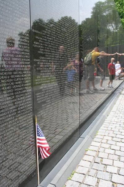 Photograph - Vietnam Memorial 3 by Jim Gillen