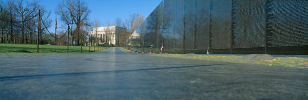 1982 Wall Art - Photograph - Vietnam Veterans Memorial, Washington Dc by Panoramic Images