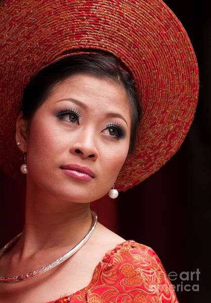 Photograph - Vietnamese Bride 10 by Rick Piper Photography