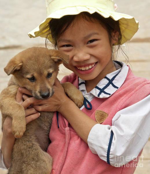 Rick Piper Photograph - Vietnamese Girl 02 by Rick Piper Photography
