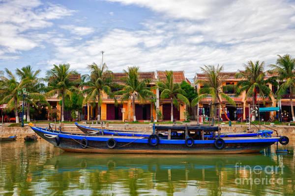 Hoi An Photograph - Vietnamese Unesco City Of Hoi An Vietnam by Fototrav Print