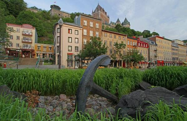 Photograph - Vieux Port And Chateau Frontenac In Quebec City by Juergen Roth