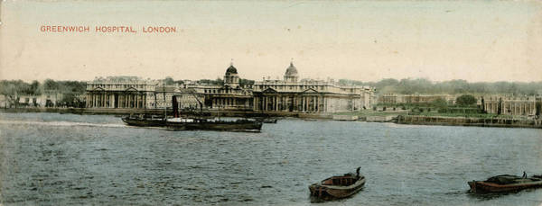 Wall Art - Photograph - View Across The River Thames by Mary Evans Picture Library