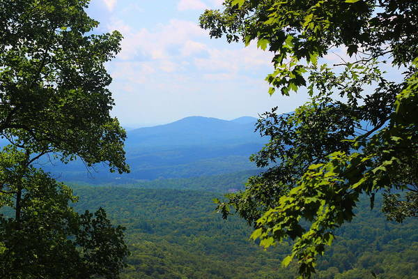 Conyers Photograph - View At Amicalola by Cathy Lindsey