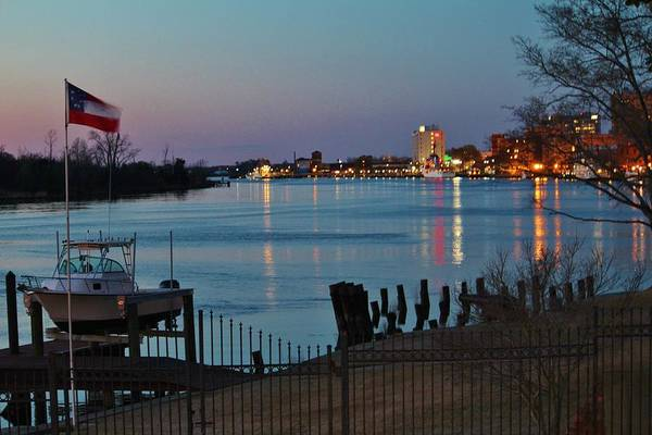 Photograph - View Down On The River by Cynthia Guinn