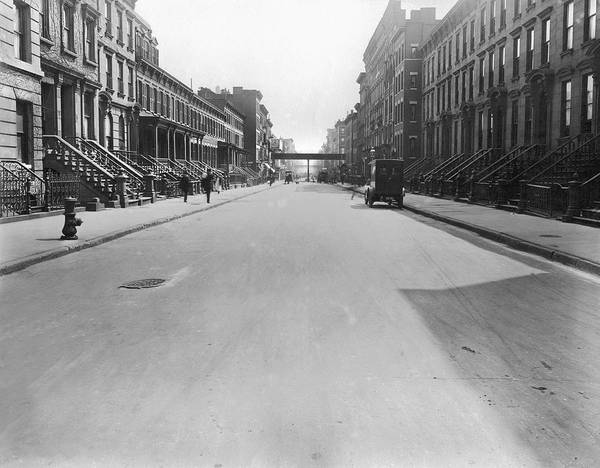 1912 Photograph - View East On 78th Street by Underwood Archives