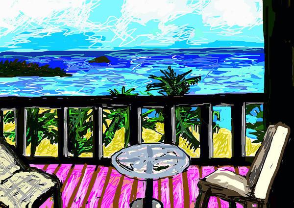 Digital Art - View From A Window by Paul Sutcliffe