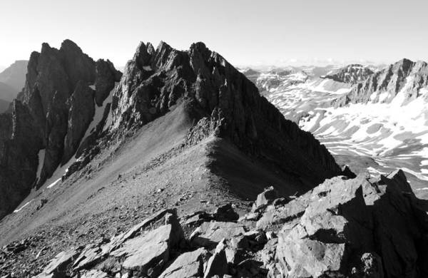 Photograph - View From Atop Mount Sneffels by Cascade Colors