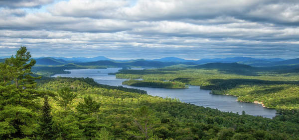 Adirondacks Photograph - View From Bald Mountain by Barbara Friedman