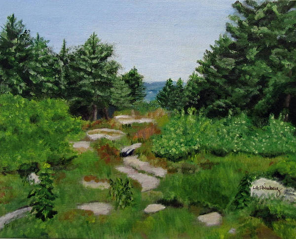Painting - View From Barrett Mountain by Linda Feinberg
