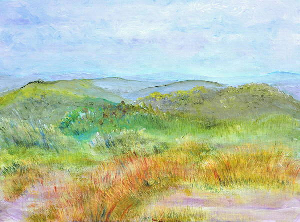 Painting - View From Bear Hill by Regina Valluzzi