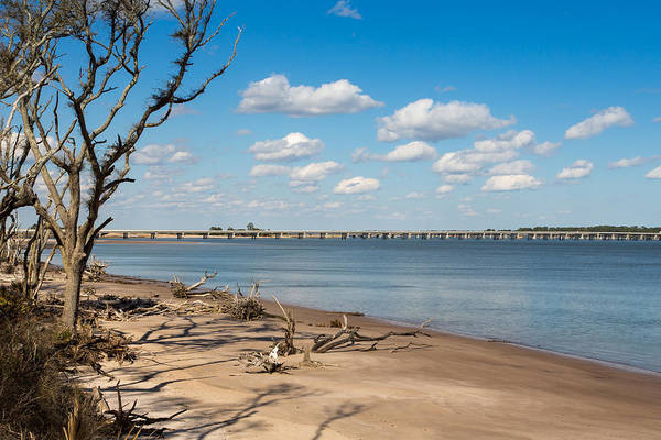 Photograph - View From Big Talbot Island Beach by John M Bailey