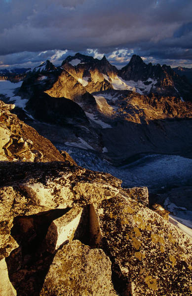 Bugaboo Photograph - View From Bugaboos, Canada by Whit Richardson