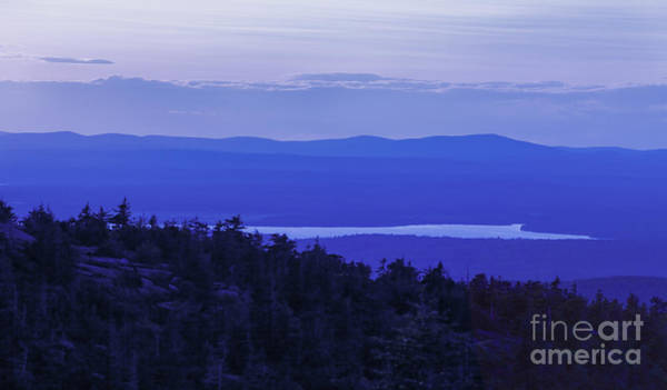 Acadia National Park Wall Art - Photograph - View From Cadillac Mountain by Diane Diederich