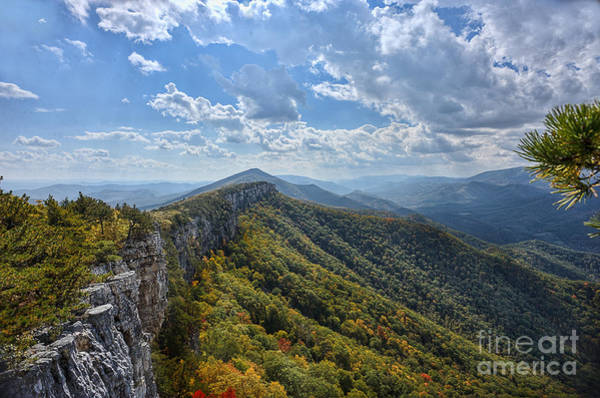 Photograph - View From Chimney Rock On North Fork Mountain by Dan Friend