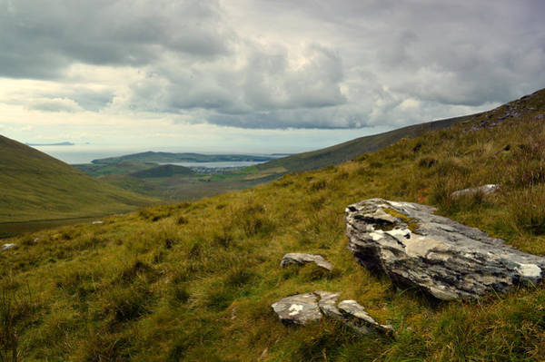 Wall Art - Photograph - View From Conor Pass. by Terence Davis