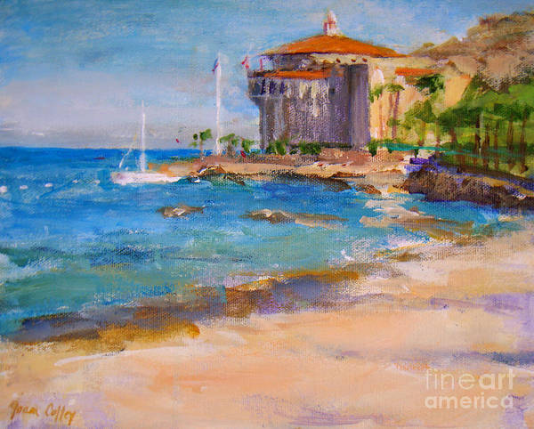 Painting - View From Descanso Beach by Joan Coffey