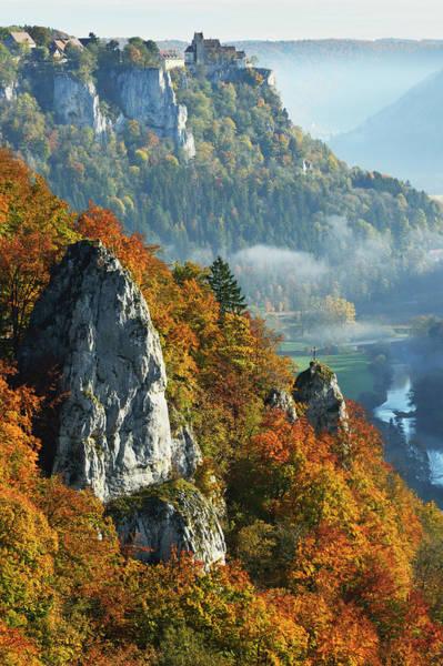 Danube Photograph - View From Eichfelsen Near Irndorf Of by Jochen Schlenker / Robertharding