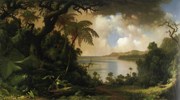 Jamaica Digital Art - View From Fern Tree Walk Jamaica by Martin Heade