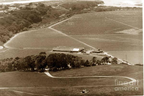 Photograph - View From Fish Ranch  Palo Corona Ranch Carmel California By Pat Hathaway 1976 by California Views Archives Mr Pat Hathaway Archives