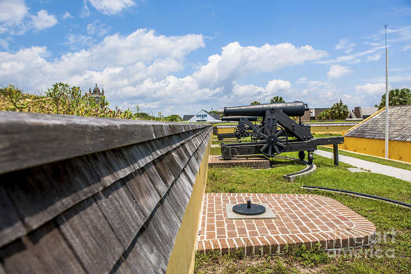 Photograph - View From Fort Moultrie To Church by Dale Powell