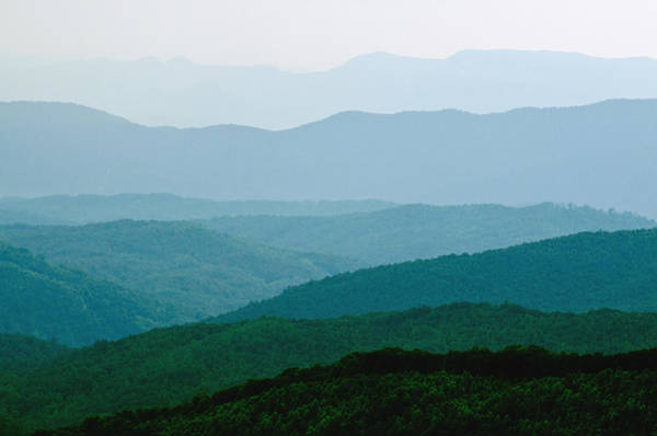 Wall Art - Photograph - View From Max Patch Mountain by Kenneth Murray