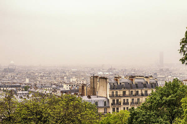 Comtemporary Photograph - View From Montmartre by Georgia Fowler
